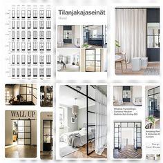 Wall Upilla on nyt myös Pinterest josta voit löytää uusia ideoita käyttää metallikehyksistä seiniä ja ovia. Käy tsekkaamassa meidän parhaat löydöt ! 🔥👌😄 #wall_up #pinterest #metallikehysistä #seinät #ovet  https://fi.pinterest.com/wall_up/