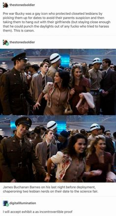 I LOVE THIS SO MUCH YOU DON'T UNDER STAND LOOK HOW HAPPY THEY ARE AND SHE JUST GRABS BUCK AND HE'S LIKE MMM OKAY