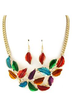 Colorful Necklace.