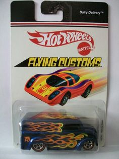 Hot Wheels 2006 Flying Customs Dairy Delivery 1:64 Scale