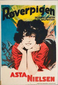Røverpigen // Brigantenrache (Reinhard Bruck, DE, 1922) Vintage Posters, Retro Vintage, Retro Room, Silent Film Stars, Call Of Cthulhu, Copenhagen Denmark, Illustrations And Posters, Film Posters, Pulp Fiction