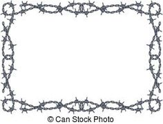 CLIPART FREEDOM BARBED WIRE   CLIPARTS   Pinterest   Vector clipart