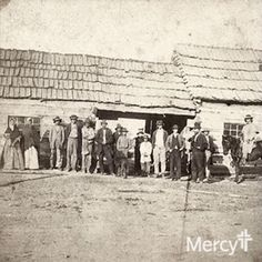 #SistersOfMercy in Oklahoma in 1884 #ThrowbackThursdays #tbt