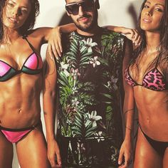 para beachwear @iamlabellamafia e LA.MAFIA Clothing