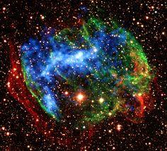 Supernova Remnant W49B © by NASA Goddard Photo and Video