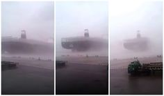 (Video) Strong winds produced by Super Typhoon Meranti left a path of destruction across much of southern Taiwan on Wednesday. One of the hardest hit areas was Kaohsiung City, where the storm toppled containers and caused a number of ships to break free at the local port. http://gcaptain.com/watch-giant-14000-teu-containership-breaks-free-during-super-typhoon-meranti/