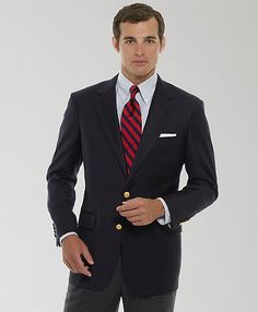 Brooks Brothers, Country Club Two-Button Blazer, $798, ITEM# 794M