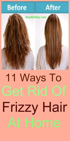 How to Get Rid of Frizzy Hair at Home with home remedies using coconut oil, mayonnaise, milk, aloe vera, avocado, bananas, glycerin, gram flour and olive oil etc