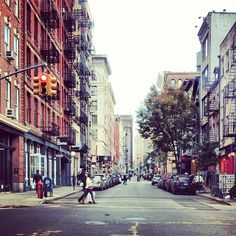 Lights are on and stores are open in #SoHo