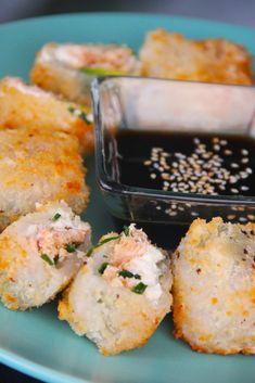 receta-rollos-papel-arroz-salmon-ahumado-queso-crema-panko-cherrytomate-8