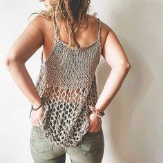 Knit Pattern for the Rustik Lace Tank Top - Easy Knitting Pattern, Tank Top Pattern, DIY Tank Top Pattern, Knit Pattern Knit Pattern for the Rustik Lace Tank Top Easy Knitting image 4 Crochet Tank Tops, Knitted Tank Top, Crochet Top, Easy Knitting Patterns, Summer Knitting, Knit Fashion, Lace Tank, Top Pattern, Crochet Dresses