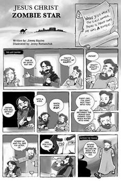 As a special Easter treat, I'm going to give you the comic that I wrote a few years back for the Slave Labor Graphics anthology, Fat Chunk Volume 2: Zombie! I wrote a few shorts for it but this was my favorite little silly one. Art by the amazing Jenny Romanchuk (The Zombie Hunters). Enjoy and watch out for those lepers!  (Page 1)