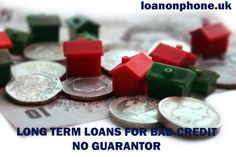 There are many reliable sources available in the UK marketplace, which offer worthy guidance on long term loans for bad credit with no guarantor option. These long term loans are easy to afford without even a pleasant credit score.Contact us @ http://www.loanonphone.uk/long-term-loans-for-bad-credit.html