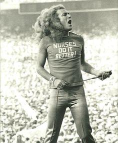 Robert Plant, Oakland Coliseum, Summer 1977