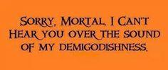 Sorry mortal