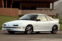 1990 Geo Storm~This is the year, color, and model I drive.