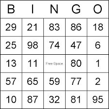 1 50 bingo cards google search maths pinterest for 4x4 bingo template