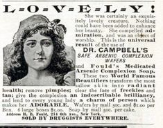 The Poisonous Beauty Advice Columns of Victorian England - Atlas Obscura