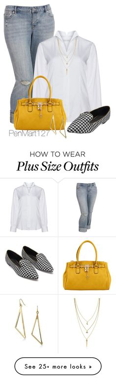 """#plussize"" by penny-martin on Polyvore featuring Old Navy, Eterna, ALDO, Cole Haan, women's clothing, women, female, woman, misses and juniors"