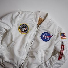 ALPHA INDUSTRIES MA-1 VF 'NASA' Click to buy