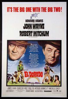 EL DORADO (1966) Original one sheet size, 27x41 movie poster.