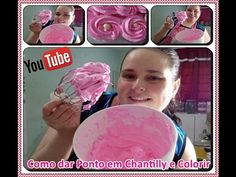 Como Dar Ponto em Chantilly e Colorir com Déby & Ian :) - YouTube