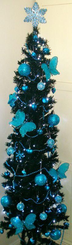 Black & Blue Christmas