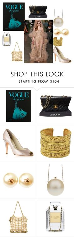 """""""Gown of the Day, Chanel"""" by freida-adams ❤ liked on Polyvore featuring Chanel"""