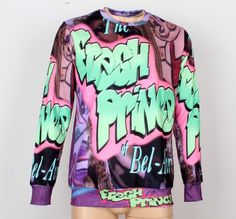 Fresh+Prince+of+Bel-Air+cotton/polyester+blend+soft+feel+sweatshirt.+Price+$74.50