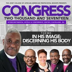 You are invited to the joint college of african american pentecostal you are invited to the joint college of african american pentecostal bishops congress 2017 location intercontinental hotel publicscrutiny Gallery