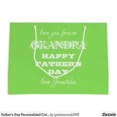 Best Dad Gifts, Great Father's Day Gifts, Great Birthday Gifts, Cool Gifts, Gifts For Dad, Fathers Day Gifts, Personalized Gift Bags, Custom Gift Bags, Grandfather Gifts