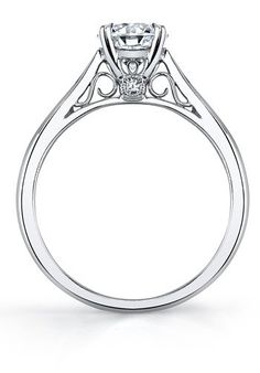 Sylvie Collection SY904 Platinum, White Gold Wedding Ring