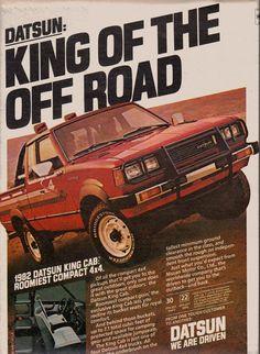 1982 Datsun King Cab pickup truck ad#1