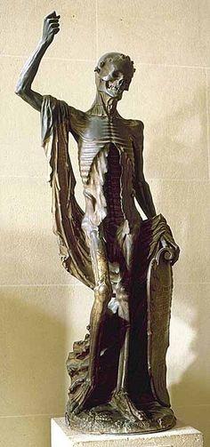 """La """"Mort Saint-Innocent"""" / The """"Death Saint Innocent"""" Département des Sculptures / Department of Sculptures.  © Musée du Louvre/P. Philibert"""