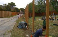 building pallet fences - Google Search