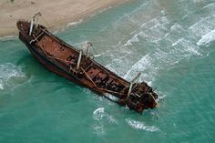 25 Haunting Shipwrecks Around the World - Italy
