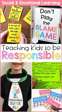Responsibility, Goal Setting, & Conflict Resolution - Social Emotional Learning - the healing path with children Social Emotional Learning, Social Skills, Social Issues, Conflict Resolution Activities, School Social Work, Writing Lessons, Grammar Lessons, Hands On Activities, Social Activities
