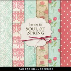 Sunday's Guest Freebies - Far Far Hill ***Join 1,480 people and follow our Free Digital Scrapbook Board. New Freebies every day.