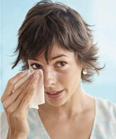 How to fix red, puffy eyes after crying.