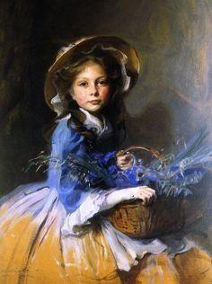 Miss Olive Trouton by Philip Alexius de Laszlo 1910