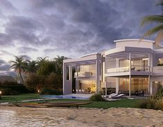 """Check out new work on my @Behance portfolio: """"House in Miami Beach"""" http://on.be.net/1ldKj7m"""