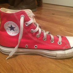 red hightop converse red hightop converse Converse Shoes Sneakers