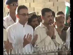 Mustafa Kamal Mazare Quaie per Hazri dete hoie