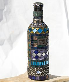 mosaics on wine bottles /images | blekko