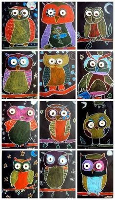 Kinderbasteleien MUSSOLS & STUDENTS OF Today I present some mussolets, I do not know if it& lucky or not, hopefully good! The owl is an animal that lives in & MUSSOLS & ALUMNES DE Avui us presento uns mussolets, no sé pas si de la sort& Fall Art Projects, School Art Projects, Garden Projects, Art 2nd Grade, Classe D'art, Kindergarten Art, Preschool Art, Art Lessons Elementary, Art Education Lessons