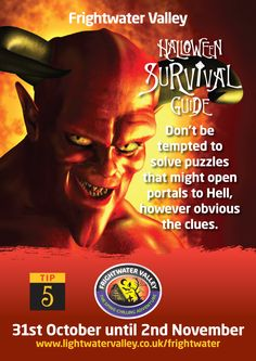 Frightwater Valley Halloween Survival Guide!