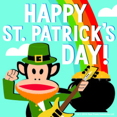 Shamrock and Roll! We hope you have an extra lucky day!