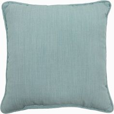 "Better Homes & Gardens 18"" Outdoor Decorative Toss Pillow, Spa, Set of 2"