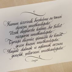 Caligraphy, Diy And Crafts, Cool Designs, Letters, Istanbul Turkey, Inspiration Tattoos, Life, Scripts, Instagram