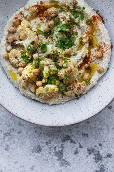 Roasted Cauliflower Hummus _ Cook Republic